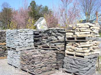 Lowes Bayshore Stone Pallets